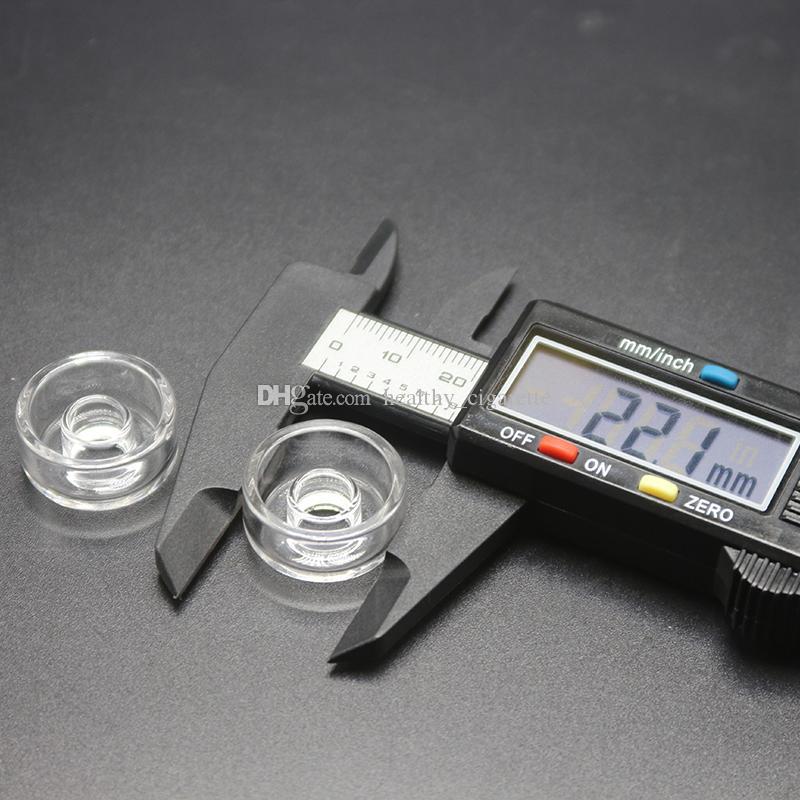 Al quarzo di ricambio al quarzo autentico al 100% Piatto al quarzo universale di alta qualità al quarzo 25mm chiodo ibrido al chiodo di titanio