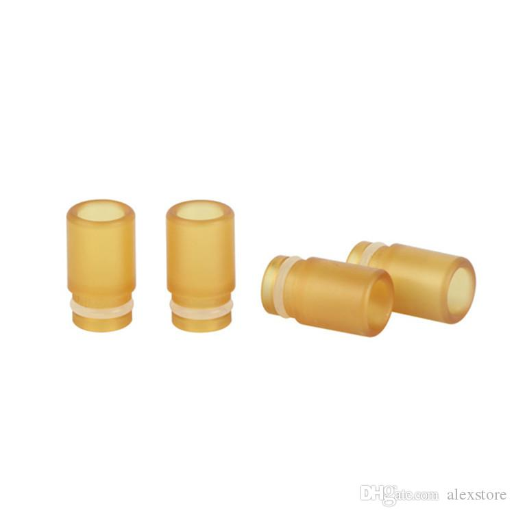 4 Types 510 Drip Tips PEI Material Wide Bore Drip Tip Mouthpiece Cover For 510 Thread Tank RTA RBA RDA Atomizer Vape DHL