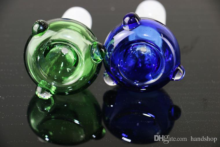 Glass Bowl for Factory wholesale new design colorful glass 18.8mm/14mm for glass water pipe use for oil rig