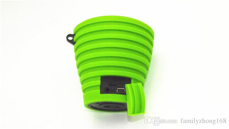 NEW GK-A36wireless Bluetooth speaker mini portable small speakers small stereo sucker silicon ECU P water speakers 12L-YX