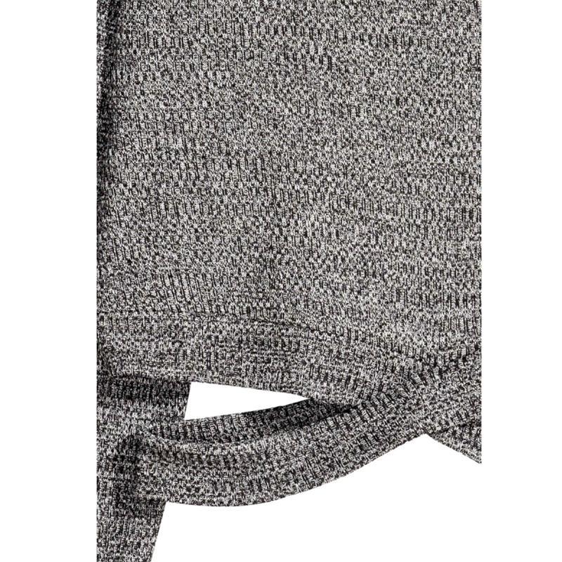 HDY Haoduoyi moda grigio solido donne sexy maglioni cinghie incrociate vita scava fuori femminile basic chic pullover signora casual top q1109