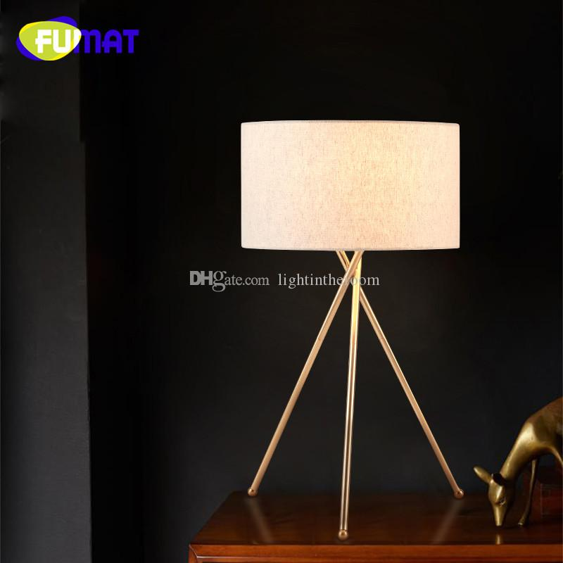 2018 nordic creative gold tripod table lamp study bedroom bedside 2018 nordic creative gold tripod table lamp study bedroom bedside light american modern hotel fabric lampshade desk lamp h64cm from lightintheroom aloadofball Images