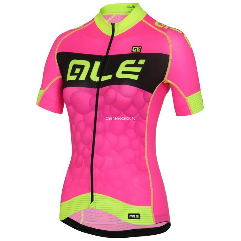 colores armoniosos nueva precios más bajos una gran variedad de modelos 2016 Ale Cycling Jersey Woman's Short Sleeve Bicycle Cycling Clothing Bike  Wear Shirts Outdoor Maillot Ropa Ciclismo Mtb