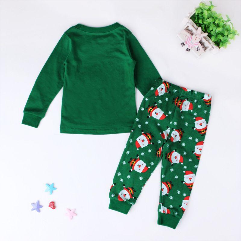 2 a 7 años Niños y niñas de otoño Niños de Navidad de manga larga Papá Noel se pone ropa, otoño, 2AA802CS-04, [ElevenStory_DH]