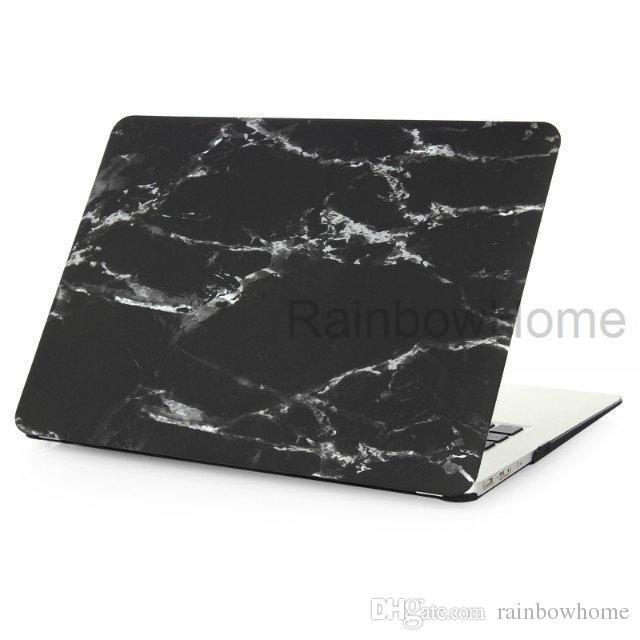 Boîtier en plastique couverture eau Decal Coque de protection pour MacBook Air Pro Retina 11 12 13 15 pouces Cases persillage PC portable Nouveau style