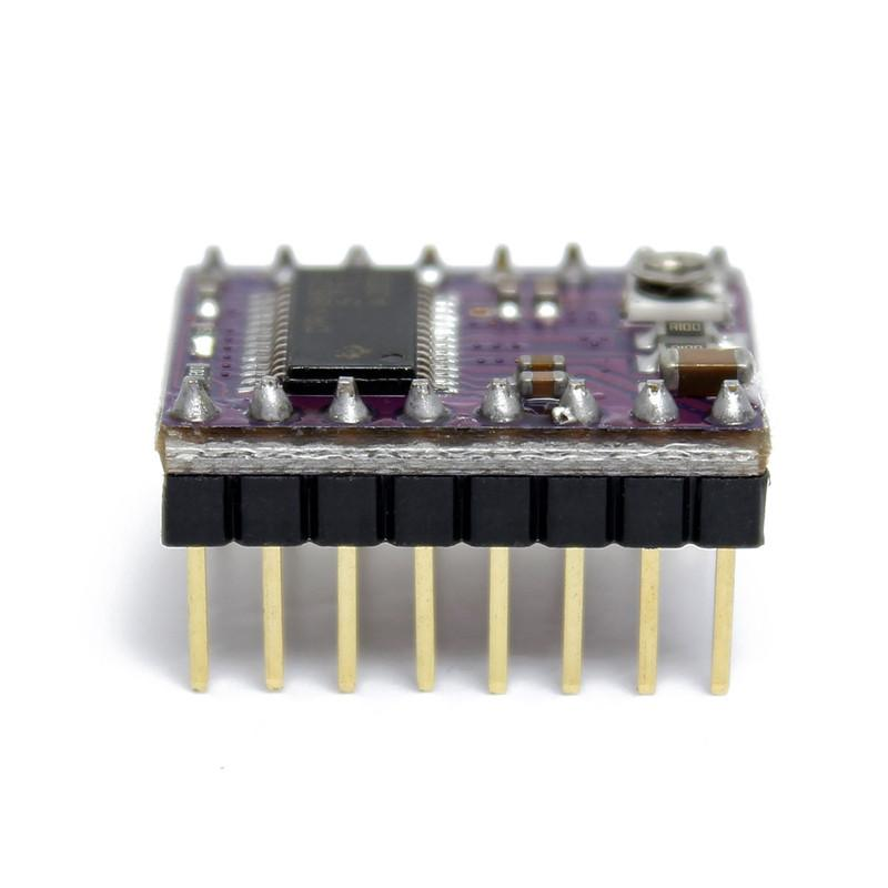 Freeshipping 3D printer for StepStick DRV 8825 DRV8825 stepper motor driver Module Carrier for RepRap RAMPS1.4 With Heat Sink