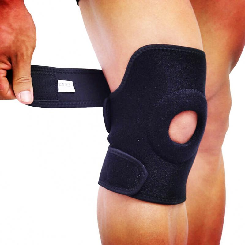 8c2f9228fc 2019 Wholesale AOLIKES Sports Knee Brace Support For Volleyball Cycling  Hiking Knee Pad Springs Supporting Protector Rodillera From Yvonna, $35.76  | DHgate.