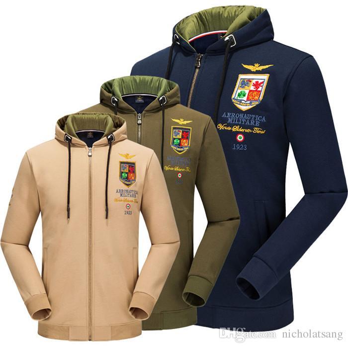 Fashion Men's MA1 Designer Hoodie Air Force One Pure Cotton Plus Size Casual Baseball Jersey For Men Pilot Velvet Flight Jacekts M~4XL