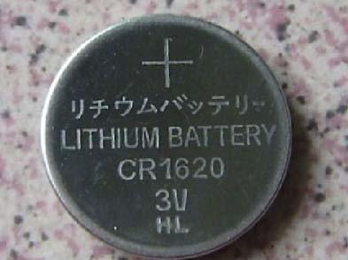 500cards Più venduto CR1620 3v Litio batterie a bottone Coin cellule fabbrica