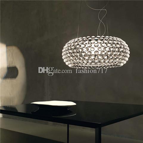 New Bedroom Foscarini Caboche Ball Lampada a sospensione Light Dia35 / 50 / 65CM Ac90-260v Lampadario moderno soggiorno camera da letto hotel