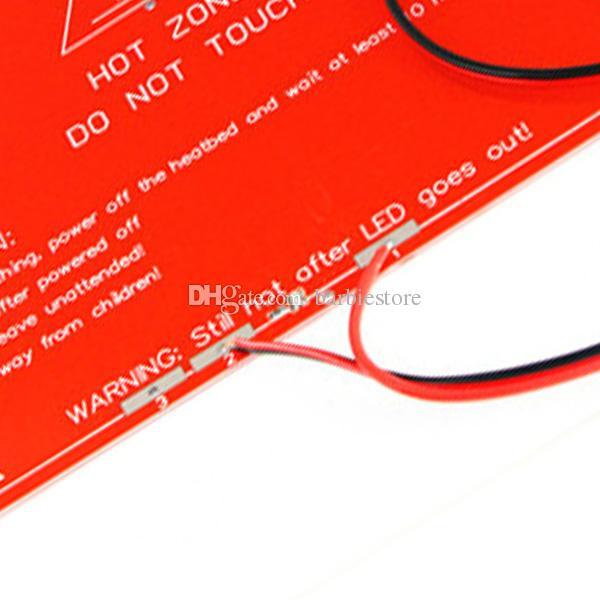 RepRap 3D Printer PCB Heatbed MK2B Heat Bed &line For Prusa Mendel 12/24V B00251