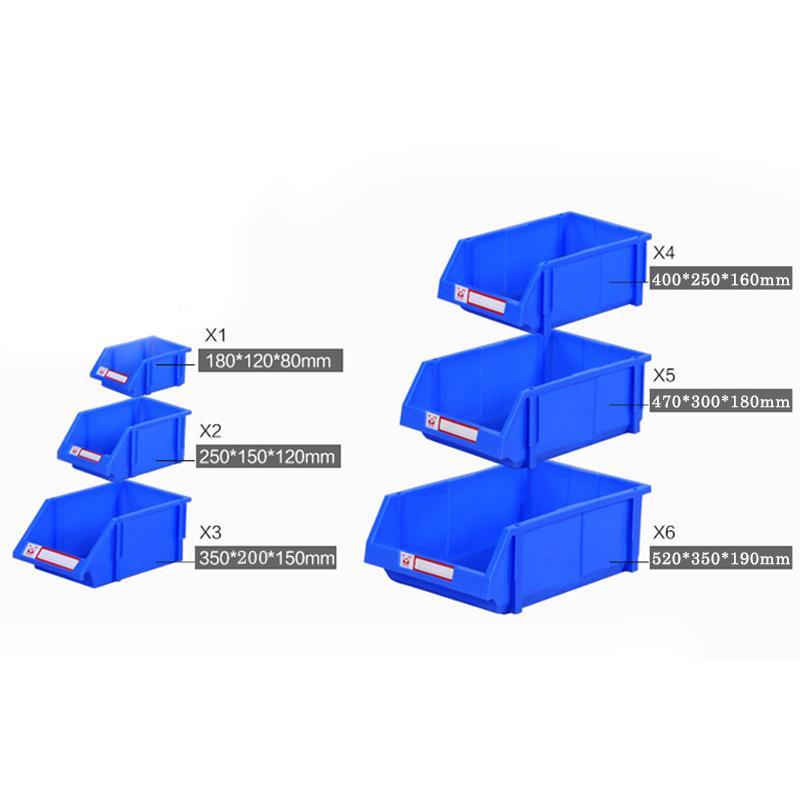 البلاستيك جزء مربع تصنيف صندوق تخزين بن في المرآب مستودع التجارة الإلكترونية تصنيف صندوق تخزين القضية