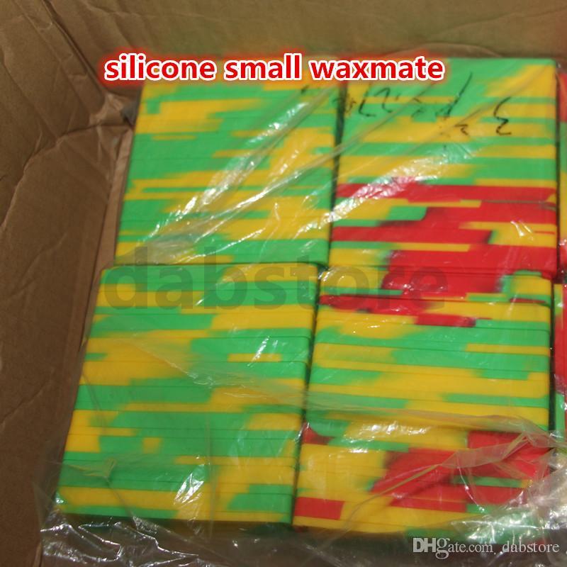 Contenants de cire antiadhésifs Boîte de silicone Boîte de silicone pour compagnons Boîte de cire antiadhésive pour cire de qualité alimentaire Support pour huile de stockage dab pour vaporisateur