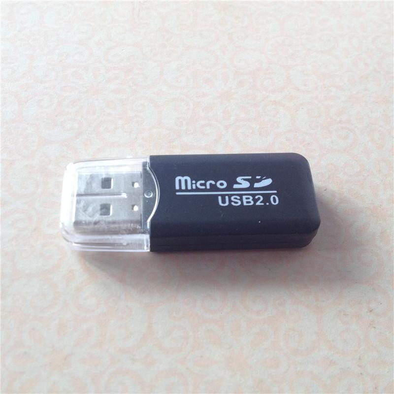 Adaptador micro sd lector de tarjeta Micro para PC ordenador mediante la interfaz USB Sim TF tarjeta de memoria flash de super alta velocidad barato lector de teléfono
