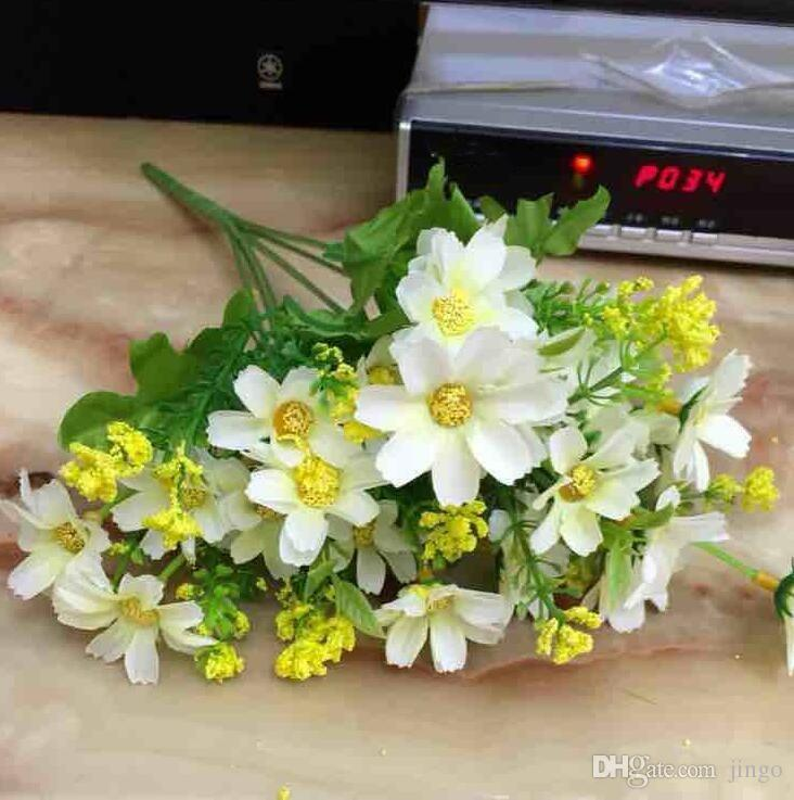 Discount 34cm Fashion Artificial Daisy Flower Bouquet Party Wedding ...