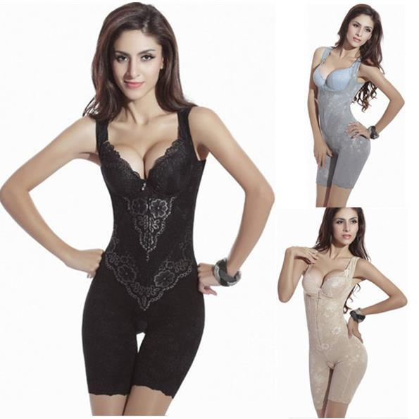 2017 Women Sexy Corset Shaper Magic Slimming Bodysuits Building Underwear Ladies Shapewear Slimming Suits Pants Legs Body Shaping
