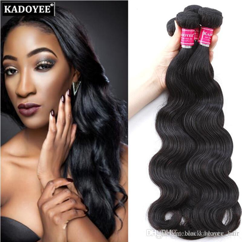 8a Unprocessed Human Hair Weave Brazilian Body Wave Soft And Thick
