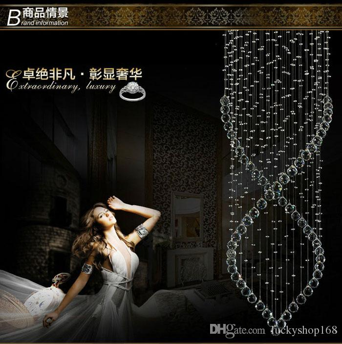 Factory Price New Cheap Modern Crystal Chandelier Light Fixture Crystal Light lustres for Ceiling Lamp Prompt Shipping 100% Guanrantee DHL