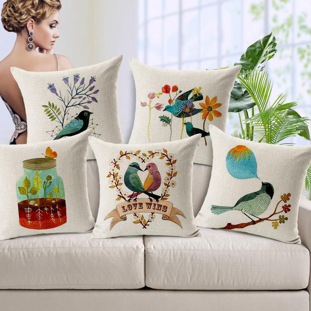 bird couch x in blue decorative for outdoor treasures pillows garden pillow shop pd throw