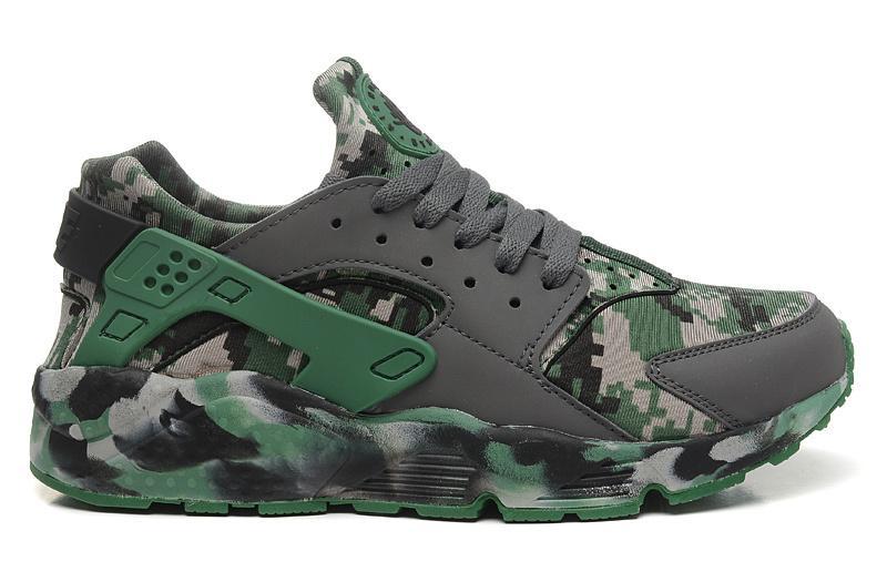 a5b5f07b6 Nuevos zapatos Huarache Zapatos para correr de calidad superior Zapatos de  camuflaje para hombre y tierra Zapatos US7-12