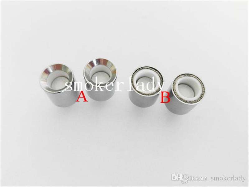 2016 Donut Ceramic Coils Wax Coils for glass globe atomizer Cannons bowling atomizer donut coils ecigs glass Vhit vaporizer donut wax tank