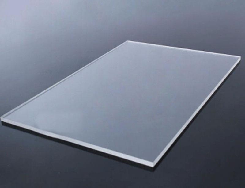 Compre 1mm * 200mm * 200m M Transparente Transparente De Acrílico De ...