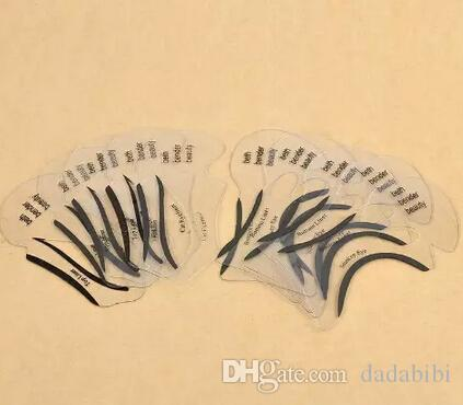 NEW ARRIVAL Beauty Cat Eyeliner Models Smokey Eye Stencil Template Shaper Eyeliner Makeup Tool