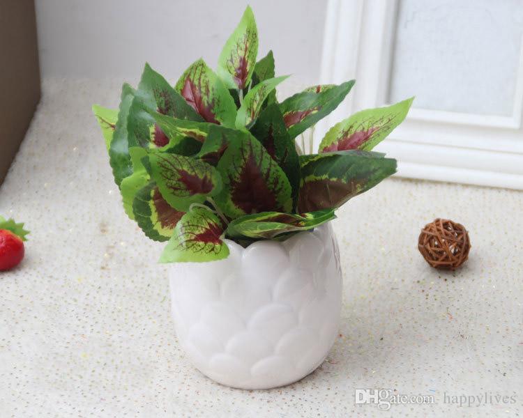 Flores de Cactos Artificiais Plantas Em Vaso de Decoração Para Casa Jardim Verde Cactus Roxo Plantas Plástico Cactus Decorativo Cactus Planta Suculenta