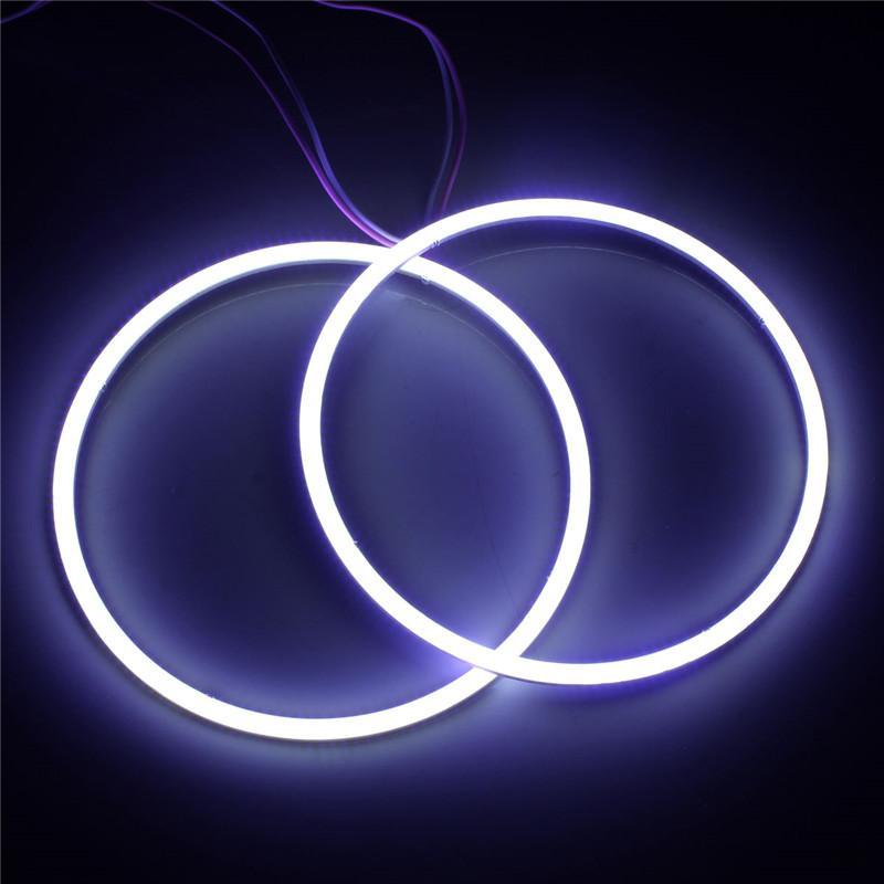 2x Led 120mm 144 COB Chip LED Car Headlight Angel Eyes LED CCFL Halo Ring Angel Eyes Warning Lamps Daytime Light DRL For BMW