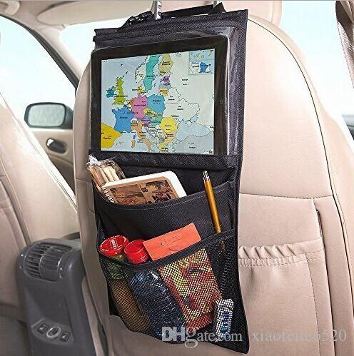auto back car seat organizer holder multi pocket travel storage hanging bag diaper bag baby kids car seat ipad hanging bag storage for car trunk tactical