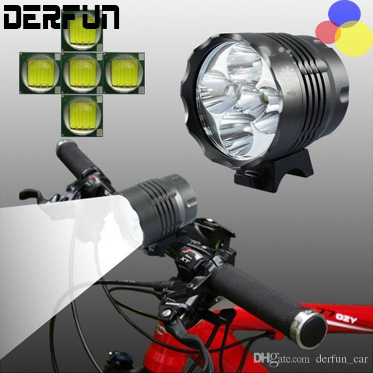2019 Cree Xm L 5x T6 Bicycle Light Headlight 5600 Lumen