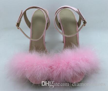 Sandalias de lujo Deluxe para mujer zapatos de fiesta negro ante talón sandalias de piel romántica de tacón alto zapatos de verano envío gratis