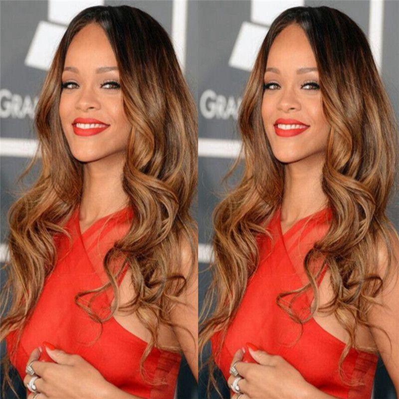 Peruvian Virgin Human Hair Long Body Wave Glueless Full Lace Wigs 150 Density 1bT30 Ombre Wavy Lace Wigs For Black Woman