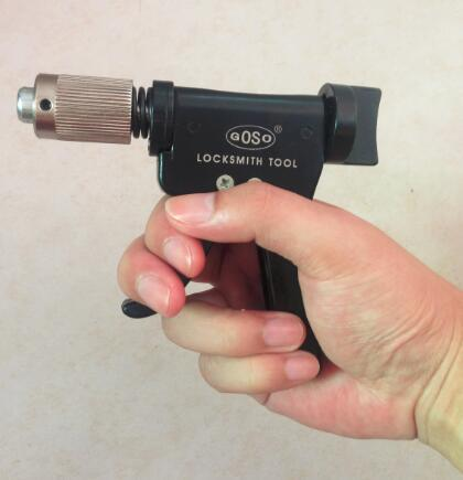 Die ursprünglichen GOSO Quick Pick Stifte Turning Tool Bauschlosserwerkzeuge Dino Gun Plug Spinner kostenloser Versand