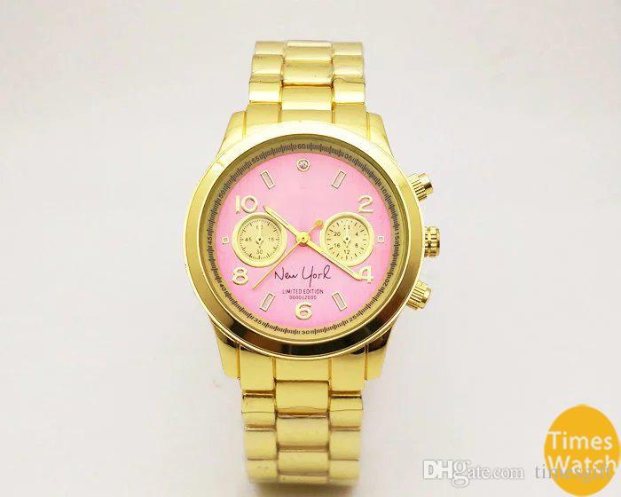 20 % 할인 패션 M 브랜드 손목 시계 남성 여성 럭셔리 골드 스테인레스 스틸 손목 Relojes 비즈니스 패션 쿼츠 시계 무브먼트 실버 시계