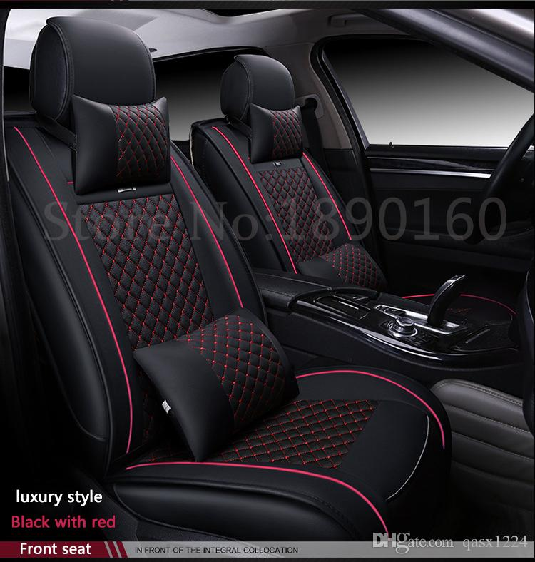 Special Leather Car Seat Covers For Bmw All Models E30 34 36 39 46 60 90 F10 F30 X3 X5 X6 Black Gray Red Blue Accessories Winter