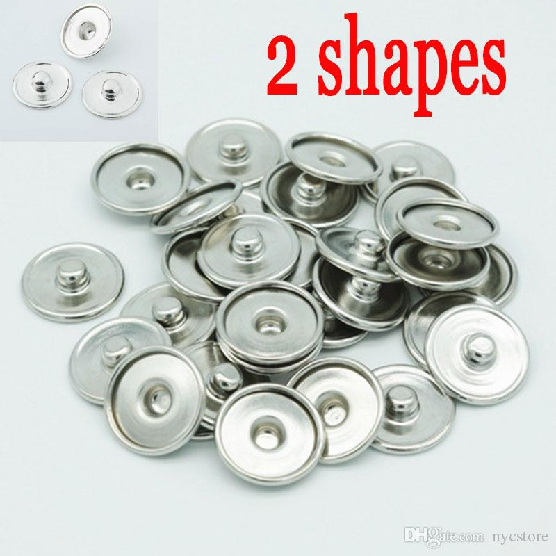 wholesale Handmade Jewelry Accessories DIY Single/&double ear snap button 18mm
