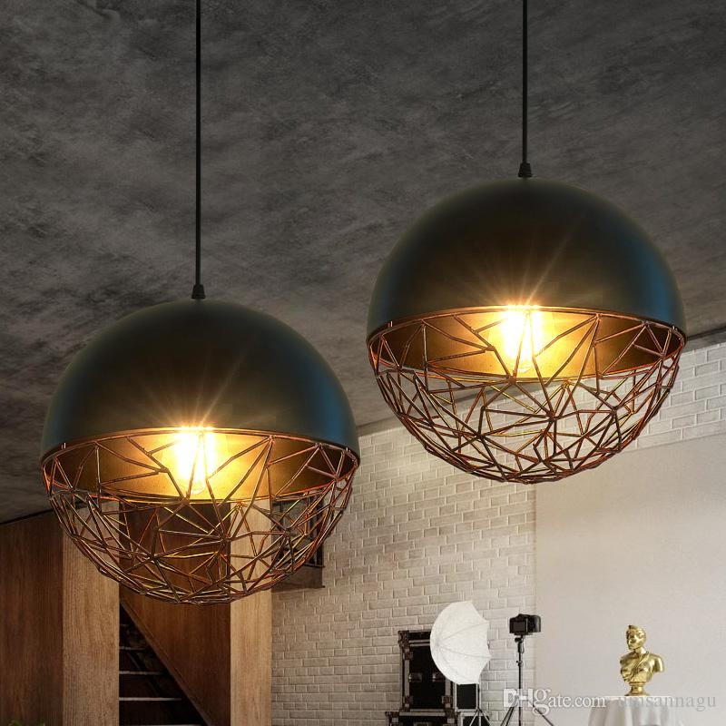 Led light modern pendant lamps american pendant lights fixture metal led light modern pendant lamps american pendant lights fixture metal vintage home indoor lighting retro drop light cafes pub globe lamp pendant lamp modern aloadofball Images