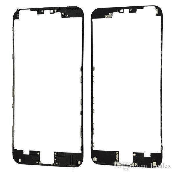 Alta qualità iphone 5 5s 5c 6 6plus telaio centrale cornice lunetta staffa con sostituzione colla a caldo