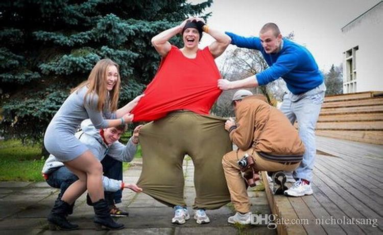 Moda hombre Hip-Hop Track Ejército Verde Pantalones Pantalones Deportivos Russian Traceur Parkour Free Running Training Suelta pantalones de baile casual