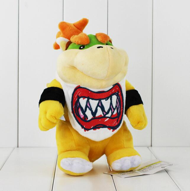 fb678d4bfc 2019 New Arrival Super Mario Bowser Koopa JR Stuffed Plush Doll Soft Baby  Toy 21cm Christmas Gift For Children EMS From Smart Technology