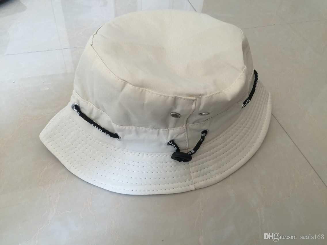 DHL Bucket Hat Boonie Flat Hunting Fishing Outdoor Beach Cap Women Men Sunhat Summer Spring Boys Girls Resort Camping Visor Hats ZJ-H01