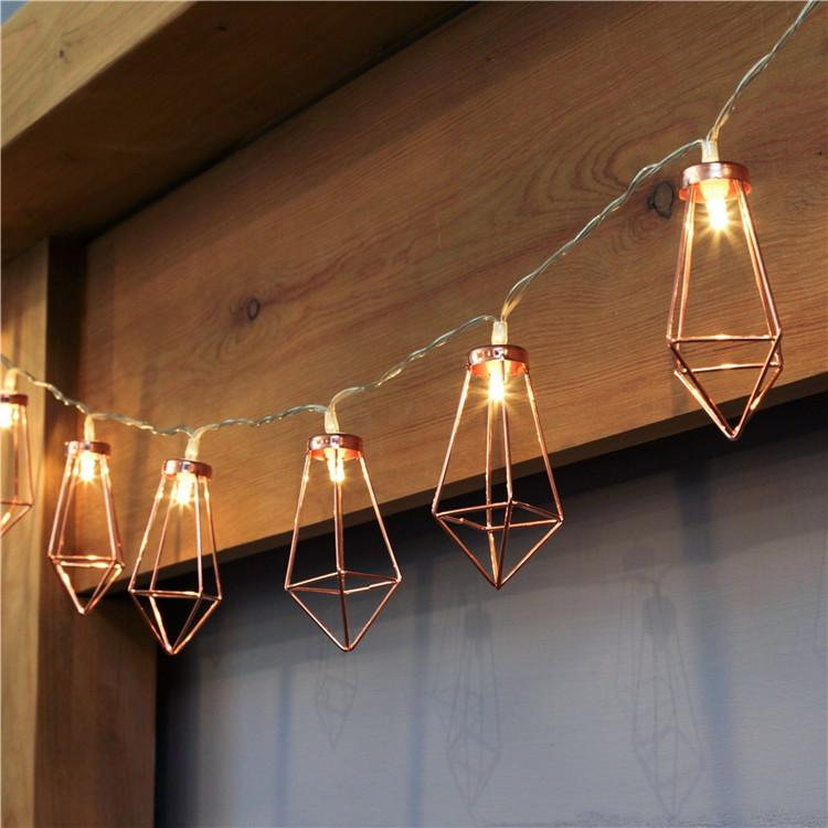 novelty led fairy lights 20 metal string light battery operated christmas lighting for festival party wedding decoration clear bulb string lights chinese