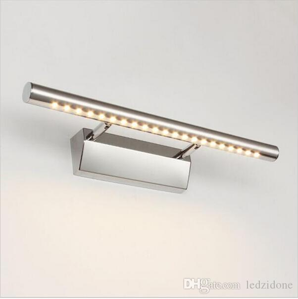 Best Led Bathroom Mirror Light With Switch Front Wall Mounted Lamp ...
