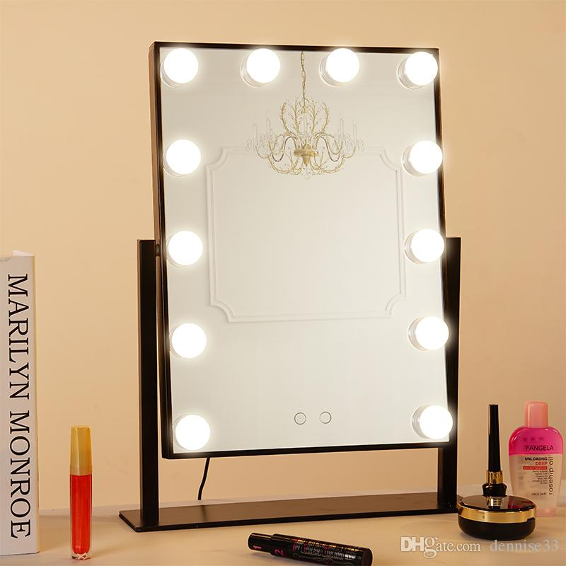 Geek House Tabletops Lighted Makeup Mirror with LED Bulb   Dimmer USB  Powered Valentine s Day Gift LED Makeup Mirror LED Lighted Makeup Mirror  LED Lighted. Geek House Tabletops Lighted Makeup Mirror with LED Bulb   Dimmer