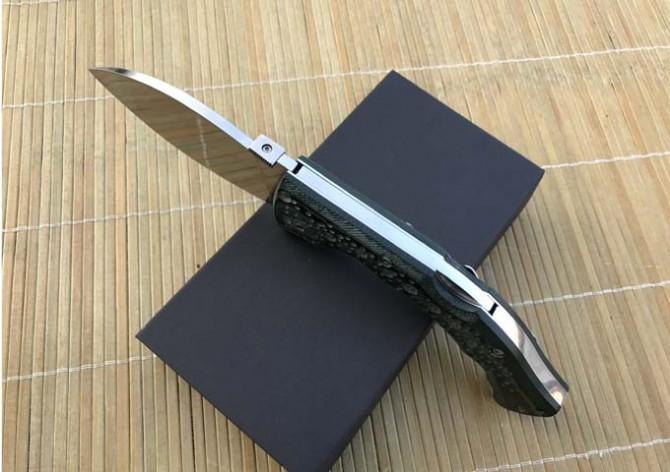 neues kaltes Stahlfaltenmesser-Geschenkkasten riesiges Hundebein großes kampierendes Werkzeug des Klappmessers 440C Klinge Micarta Handgriff 56HRC geben Verschiffen frei