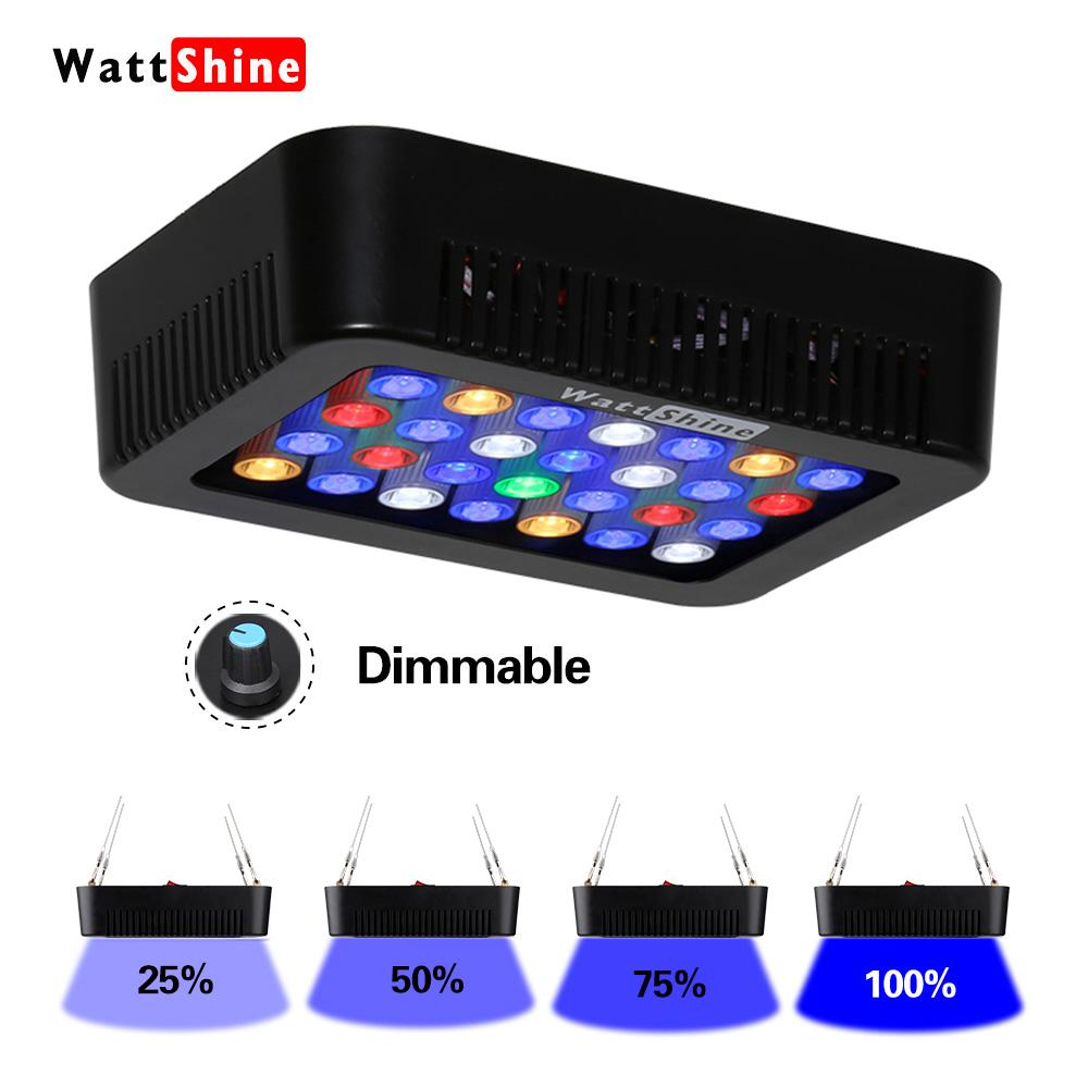 Marine aquarium coral 140w led aquarium lighting fixtures dimmable marine aquarium coral 140w led aquarium lighting fixtures dimmable lamp fish aquatic tank lamp dimmer control aquatic plant pots led grow light dimmer arubaitofo Choice Image