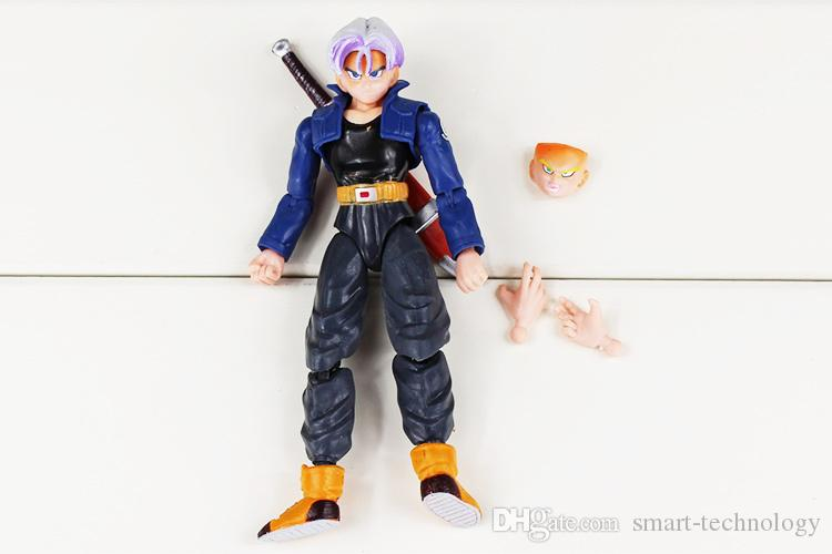 Dragon Ball Goku toy Dragonball Figure Action dolls ,Set Of 8 12-17cm Dragonball Action Figure