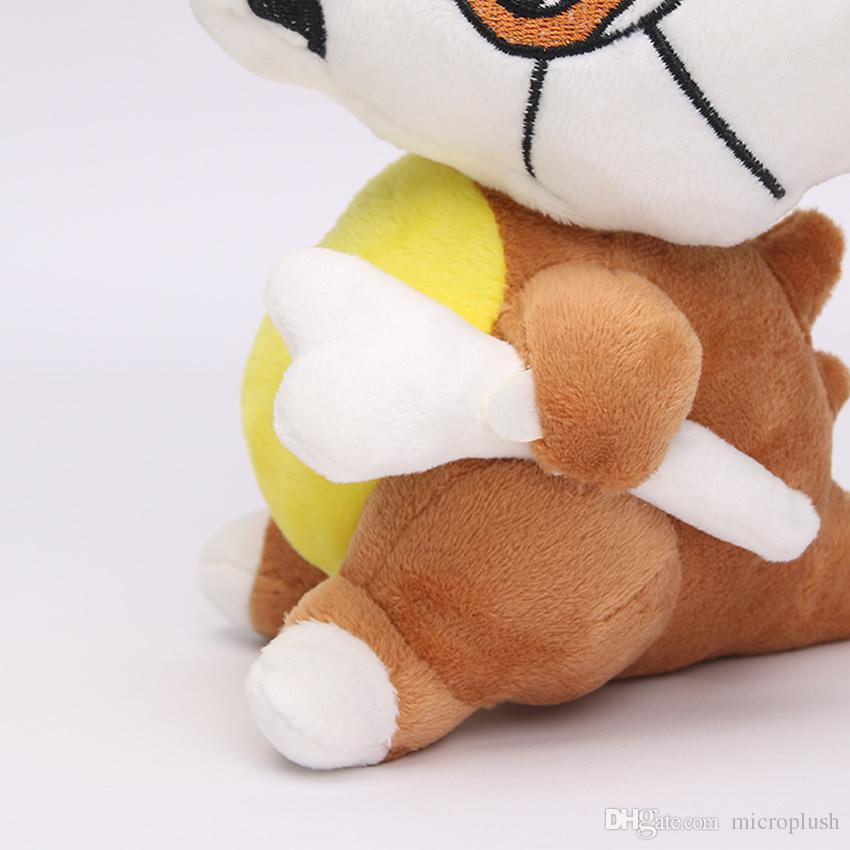 16cm Janpenese Anime pikachu Cute Cubone Plush Soft Stuffed Doll Toy for kids gift