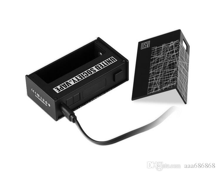 E-sigaretta Mods 75 W scatola di controllo della temperatura VO75 grande pressione fumo sigaretta elettronica mod vape host 18650 batteria sicuro principale corpo caldo
